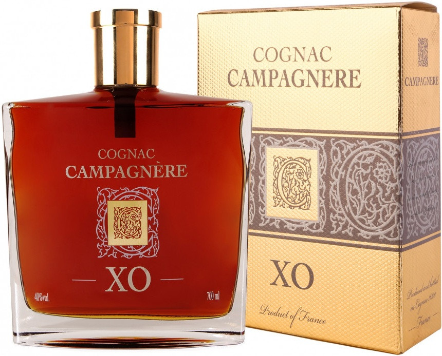Campagnere XO gift box 700 мл