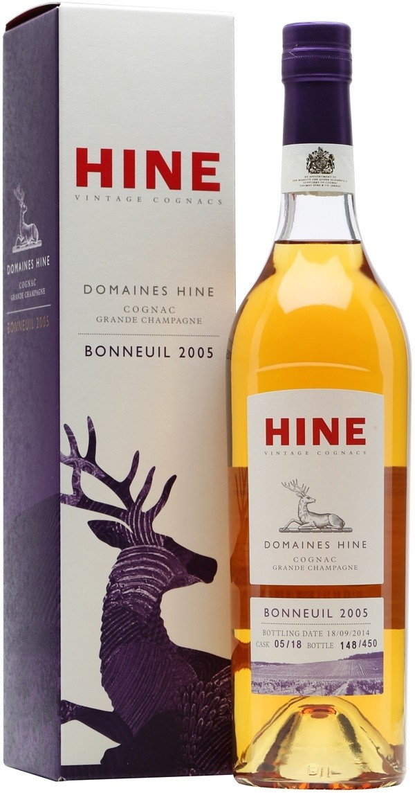 Hine, Domaines Hine, Bonneuil, Grande Champagne, gift box