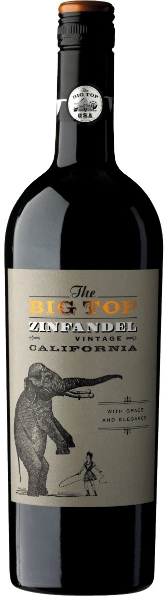 Boutinot, The Big Top, Zinfandel, Red