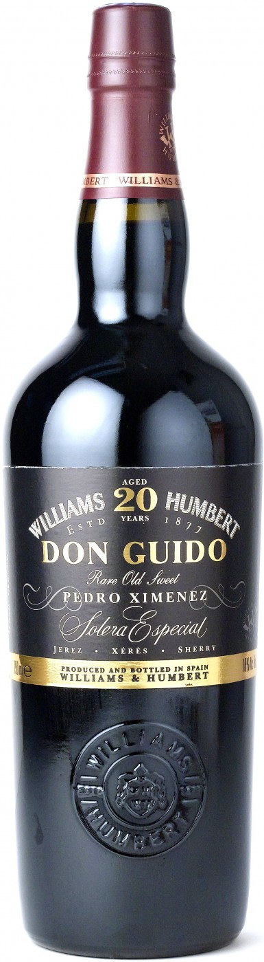 Williams Humbert Don Guido Pedro Ximenez Solera Especial 20 years gift tube