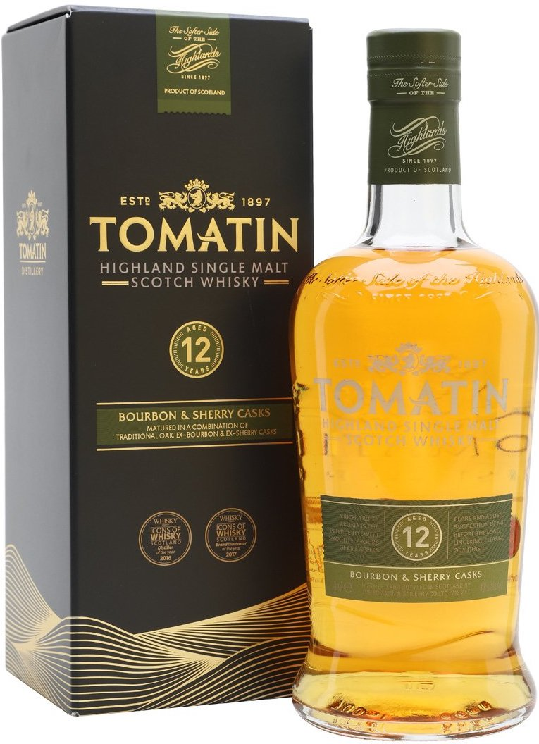 Tomatin, 12 Years Old, gift box