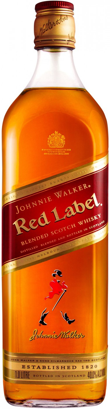 Johnnie Walker Red Label | Джонни Уокер Ред Лэйбл