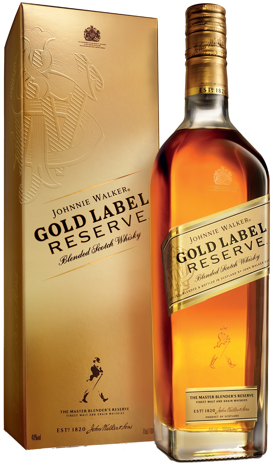 Johnnie Walker Gold Label Reserve, gift box
