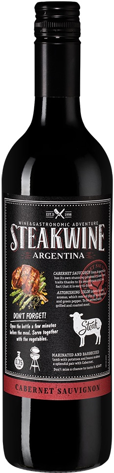 Steakwine Cabernet Sauvignon Black Label