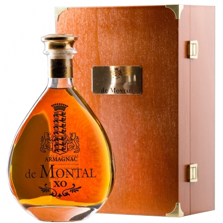 Armagnac de Montal, XO, wooden luxury box