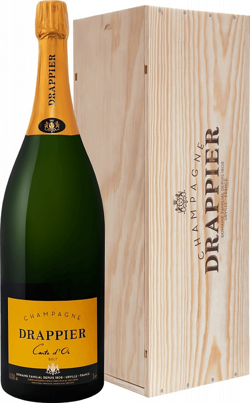 Champagne Drappier, Carte d`Or, Brut, gift box | Шампань Драппье, Карт д`Ор, Брют, п.у.