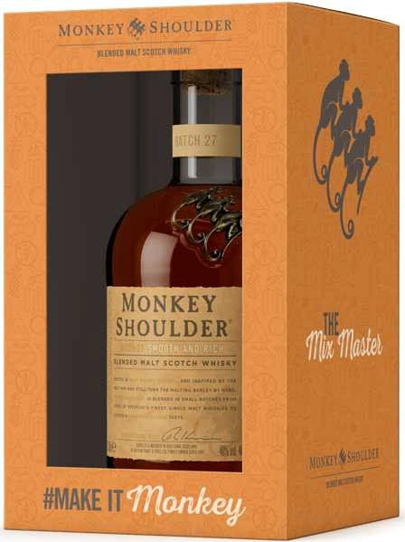Monkey Shoulder, gift box