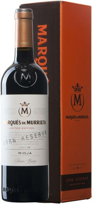Marques de Murrieta, Gran Reserva, gift box