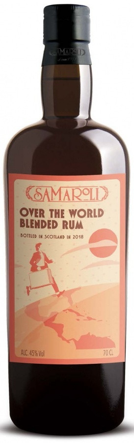 Samaroli Over The World Blended, gift box | Самароли Оувэ Зе Ворлд Блендид, п.у.