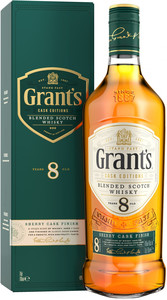 Grant`s, Sherry Cask Finish, 8 Years Old, gift box