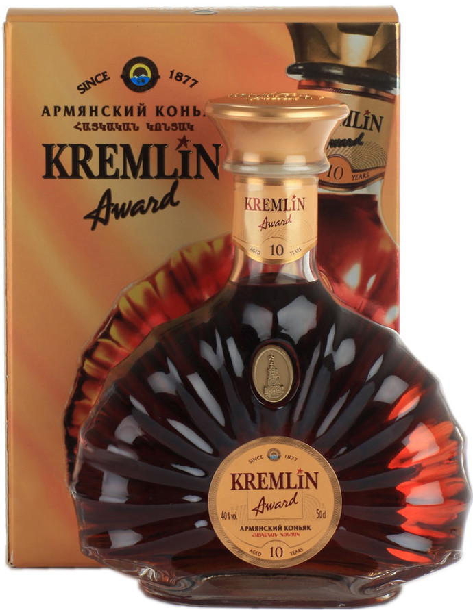 Kremlin Award 10yo, gift box