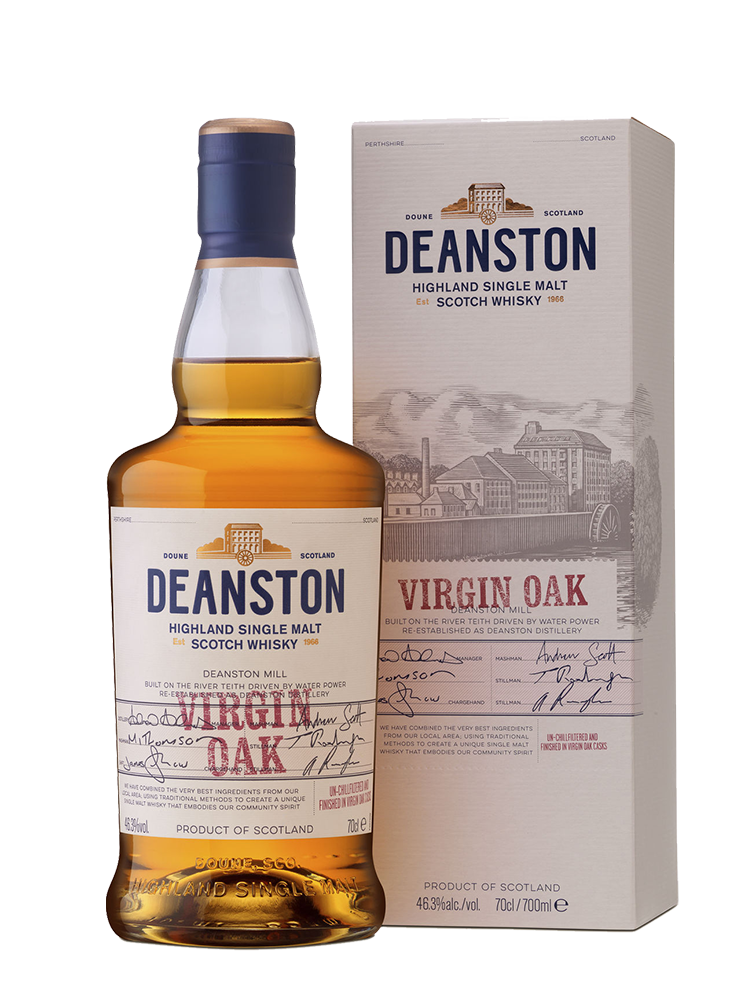 Deanston Virgin Oak, gift box | Динстон Верджин Оук, п.у.