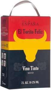 El Torito Feliz, Tinto, Seco, bag-in-box