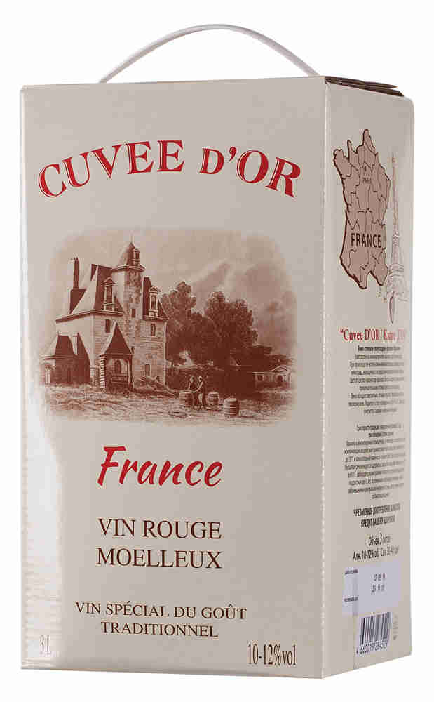 Cuvee d`Or, Rouge, Moelleux