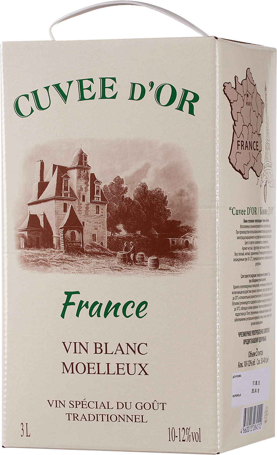 Cuvee d`Or, Blanc, Moelleux