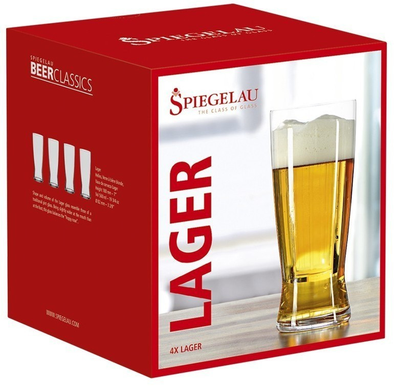 Spiegelau Beer Classic Lager 4991971 (4 шт.)