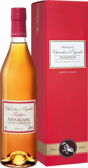 Chevalier d`Espalet, Tradition VS, Armagnac, gift box