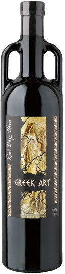Dionysos Wines, Greek Art, Red, Dry
