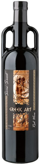 Dionysos Wines, Greek Art, Red, Semi-Sweet