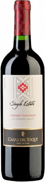 Casas del Toqui, Single Estate, Cabernet Sauvignon, Central Valley