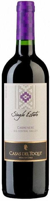 Casas del Toqui, Single Estate, Carmenere, Central Valley