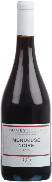 Yves Duport, Mondeuse Noire, Bugey | Ив Дюпорт, Мондоз Нуар, Бюже