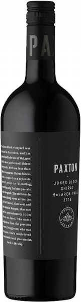 Paxton Wines, Jones Block, Shiraz