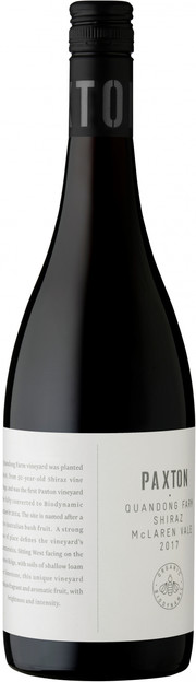 Paxton Wines, Quandong Farm, Shiraz