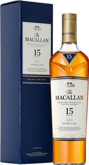 Macallan, Double Cask, 15 Years Old, gift box