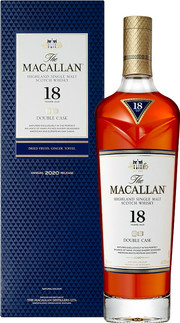 Macallan, Double Cask, 18 Years Old, gift box