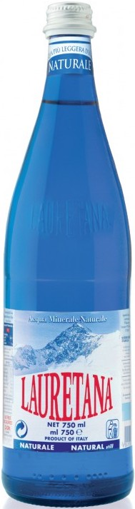 Lauretana Naturale Blue Glass