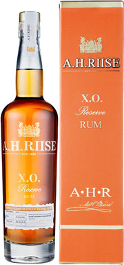 A.H. Riise, XO Reserve, Super Premium Single Barrel, gift box