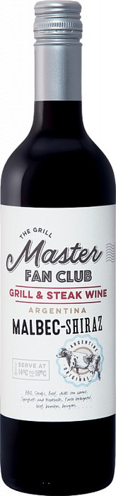 The Grill Master Fan Club, Malbec-Shiraz