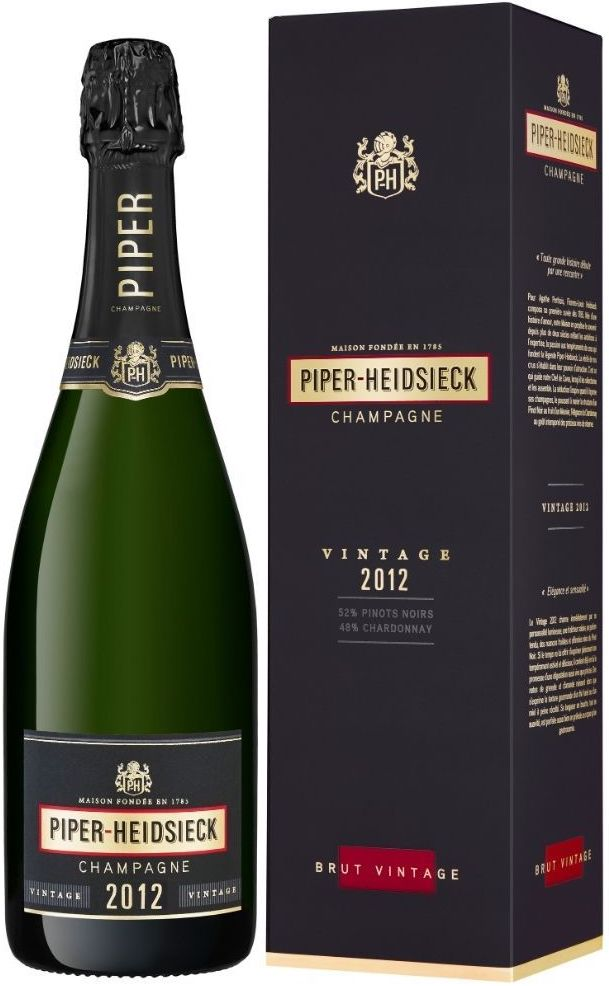 Piper-Heidsieck, Vintage Brut, Champagne, gift box