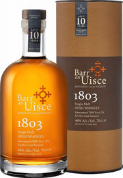 Barr an Uisce, 1803, 10 Years Old, gift box