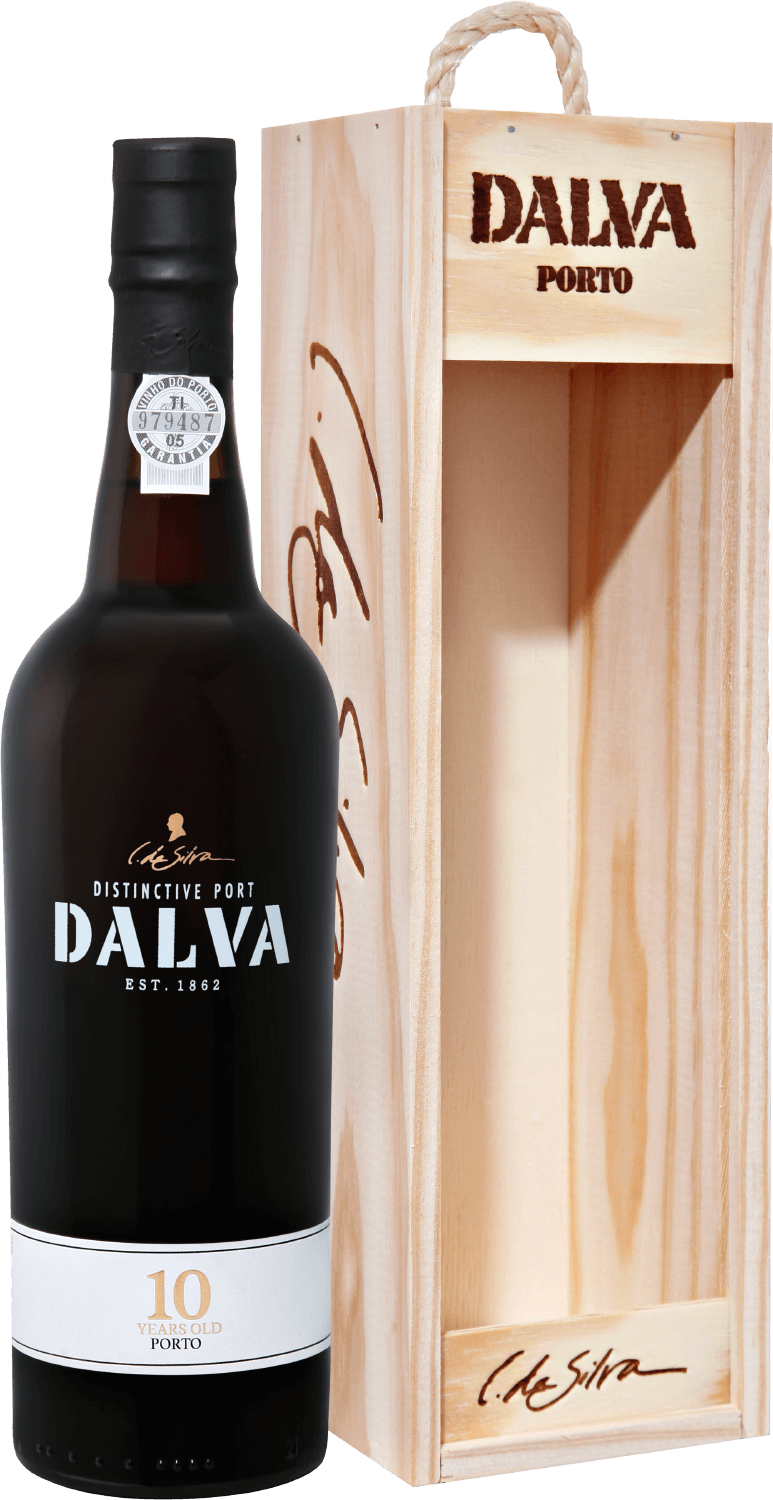 C. da Silva, Dalva, 10 Years Old Porto, gift box