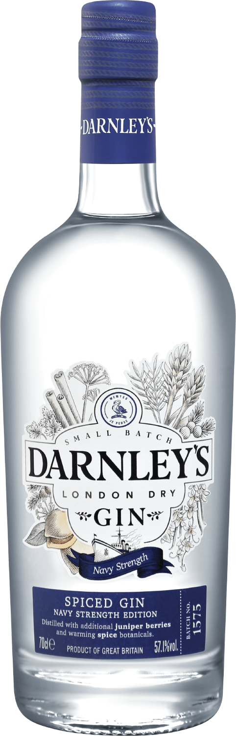 Wemyss Malts, Darnley`s, Spiced, Navy Strength