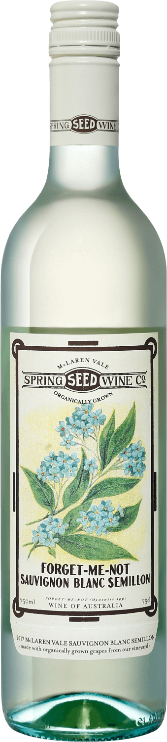Spring Seed Wine, Forget Me Not, Sauvignon Blanc Semillon, McLaren Vale