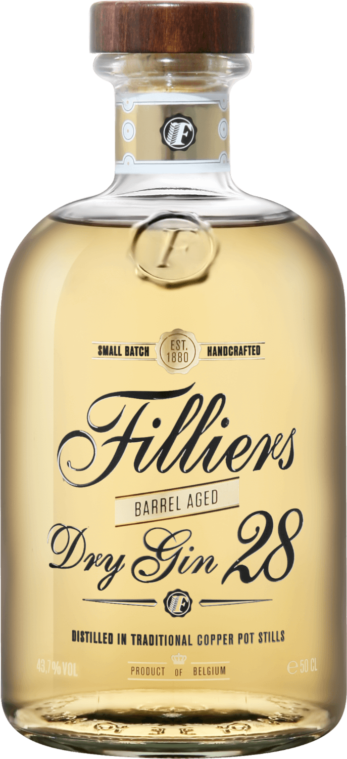 Filliers, Dry Gin 28 Barrel Aged