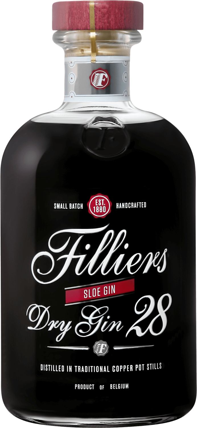 Filliers, Dry Gin 28 Sloe Gin