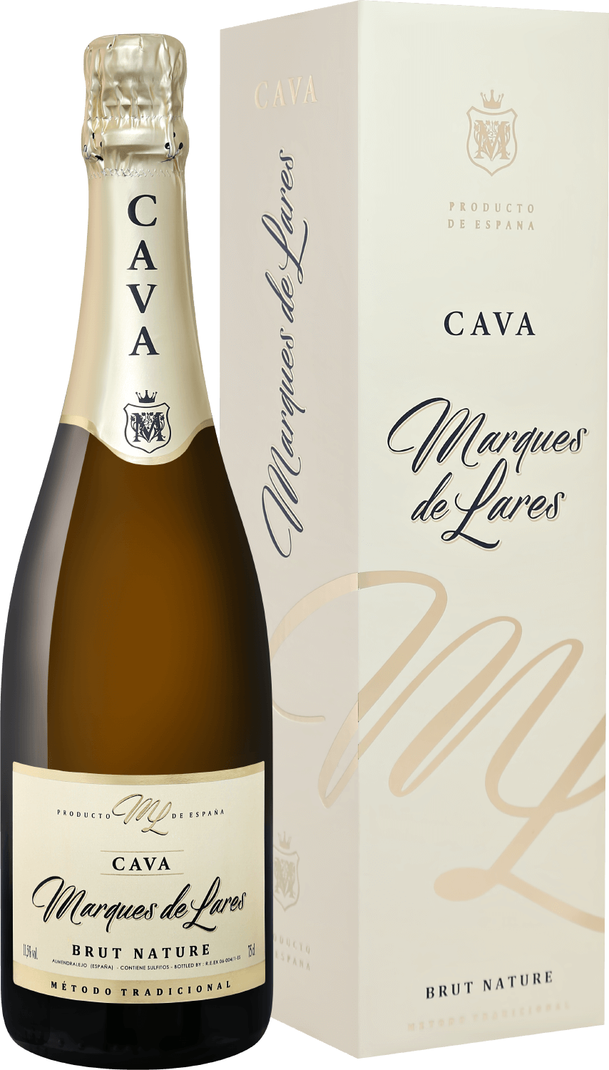 Marques de Lares, Brut Nature, Cava, gift box