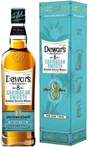 Dewar`s, Caribbean Smooth, 8 Years Old, gift box
