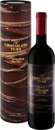 Mare Magnum, The Chocolate Tube, Primitivo, Puglia, gift box