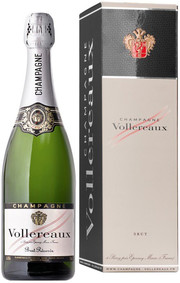 Vollereaux, Brut Reserve, Champagne, gift box