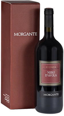 Morgante, Don Antonio, Nero d'Avola, Sicilia, gift box