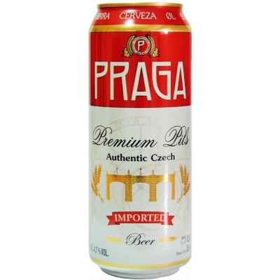 Praga, Premium Pils, in can