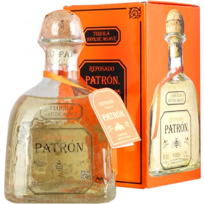 Patron Reposado, gift box