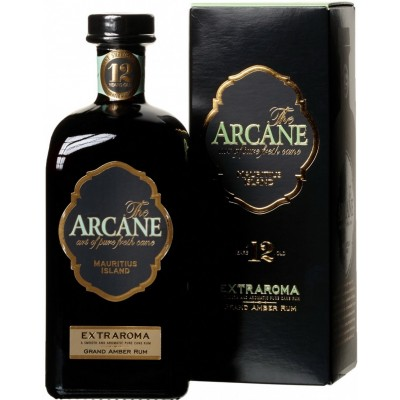 The Arcane, Extraroma, Grand Amber, 12 Years Old, gift box