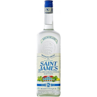 Saint James, Rhum Blanc, Martinique