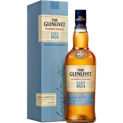 The Glenlivet, Founder`s Reserve, gift box